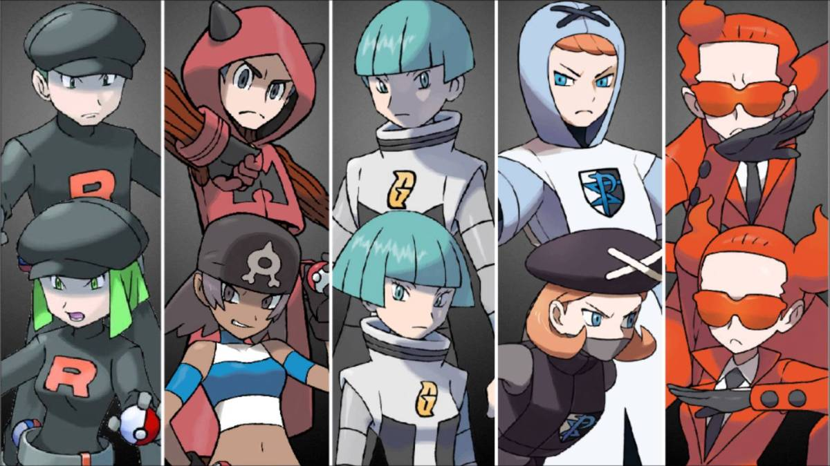 Pokemon: The Top Six Villain Teams