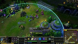 A League of Legends game- note the similar map in the corner