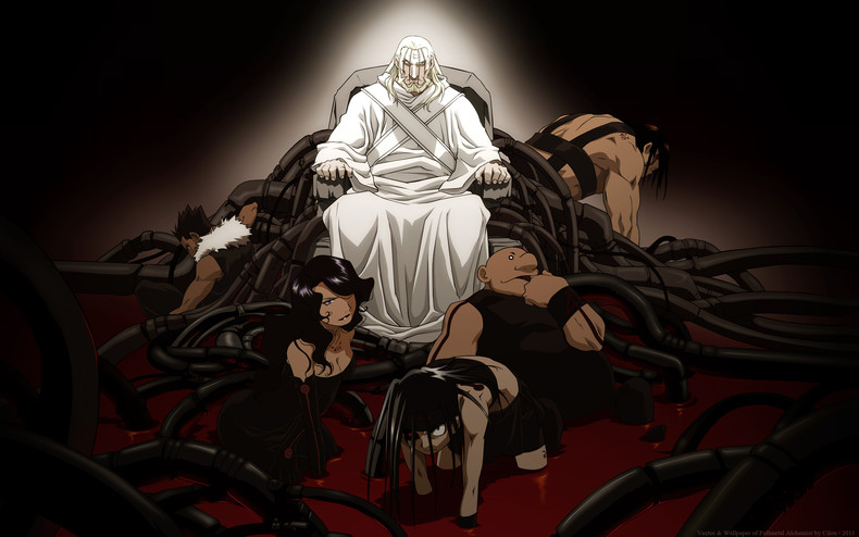 Full Metal Alchemist Brotherhood A Theological Analysis Of The Homunculus Alchemy And Truth