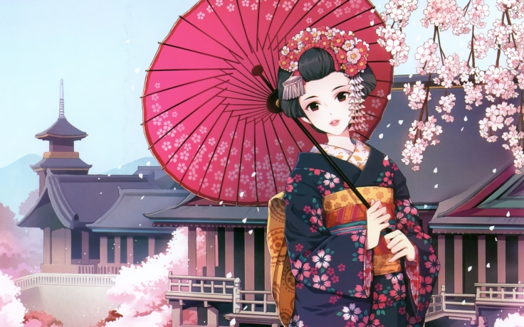 cherry_blossoms_flowers_kimono_umbrellas_flower_petals_japanese_clothes_anime_girls_black_hair_narda_Wallpaper_2560x1600_www.wallpapermi.com_.jpg